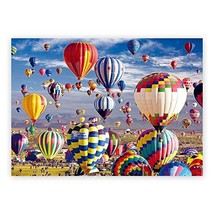 1000 Pieces Jigsaw Puzzles,Puzzles for Adults and Kids,Hot Air Balloon for Kids