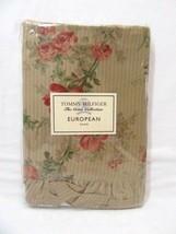 Tommy Hilfiger Heirloom Paisley Floral Ruffled Euro Sham - $59.00