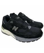 New Balance Men's 992 Shoe Size 5.5 Black Grey M992BL - Factory Seconds - $139.99