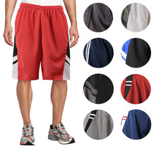 Men's Basketball Athletic Workout Active Lightweight Mesh Fitness Sports Shorts image 1