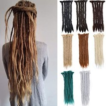 20 inch Full Head Colorful Synthetic Dreadlock Hair Extension for Women and Men