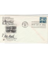 united states 1958 booklet pane stamps cover ref 20020 - £6.06 GBP