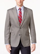 Tommy Hilfiger Men's Slim-Fit Herringbone Sport Coat , Size R 40, MSRP $295 - $148.49