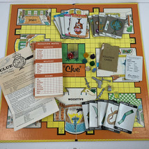 Vintage 1963 Clue Board Game Parker Brothers Detective Made In USA - $15.00