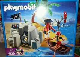 Playmobil #4139 Pirates Island Compact Set New Sealed - $149.60