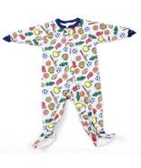 Dr Denton Kleinkinder Einteiler Sport Thema Reißverschluss Pyjama Größe 2T - $9.32