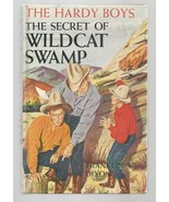 Hardy Boys THE THE SECRET OF WILDCAT SWAMP   Early pic cov     1952   Ex++ - $12.60