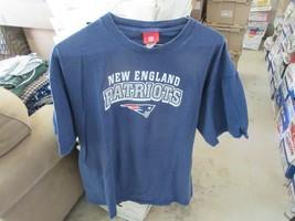 New England Patriots , Short Sleeve Tee , Men's XL , 100% Cotton , NFL - $8.00