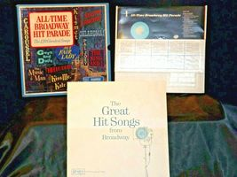All Time Broadway Hit Parade Record, The 120 Greatest Songs AA-191749 Vintage C image 11