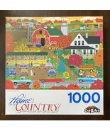 """CraZArt """"Autumn Harvest"""" 1000 Pc Jigsaw Puzzle Home Country Mark Frost 2... - $14.36"""
