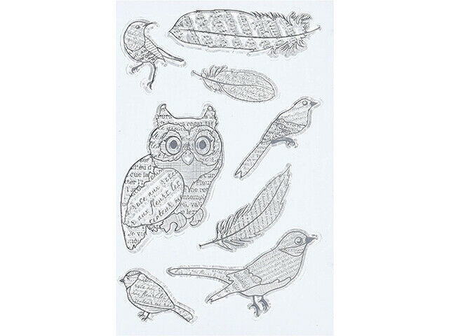 Bo Bunny Birds of a Feather Clear Stamp Set #12105440