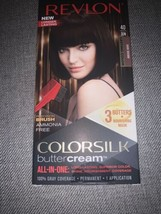 Revlon Colorsilk Buttercream 40/30N Dark Brown Lasting Hair Color NEW  - $16.04