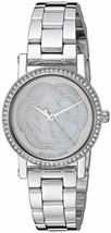 Michael Kors Women's Petite Norie Pavé SilverTone Watch with MOP Dial  M... - $103.91