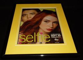 Selfie 2015 ABC Framed 11x14 ORIGINAL Advertisement Karen Gillan John Cho - $32.36