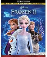 FROZEN II Disney Ultimate 4K Ultra HD + Blu-ray + Digital Code NEW - $22.59