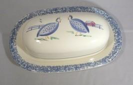Pfaltzgraff Butter Dish & Under Plate Sunnydale Pattern EUC Vintage 1996-98 - $7.92