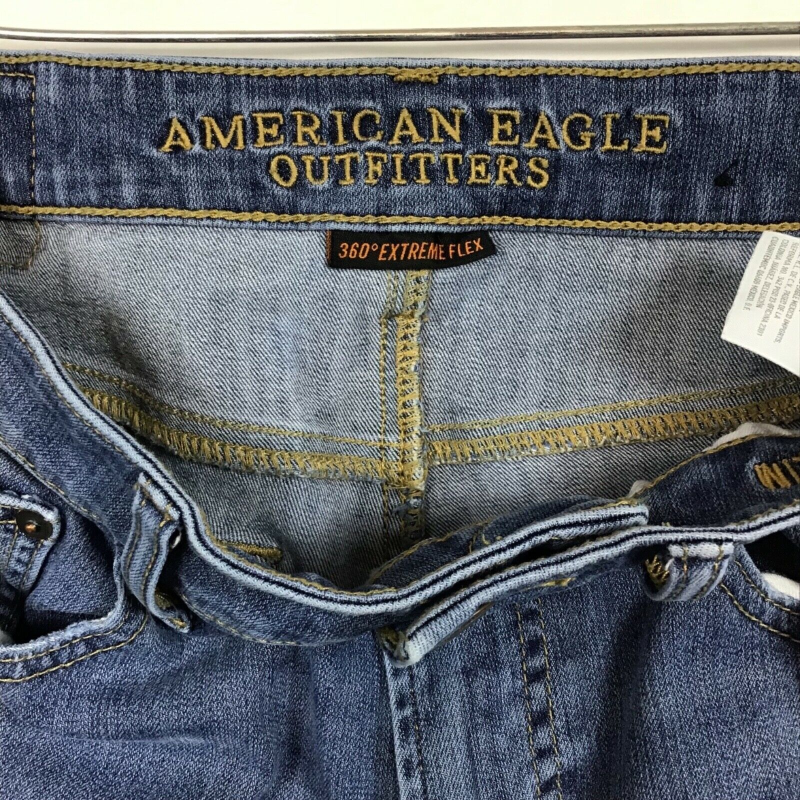American Eagle Outfittters AEO Mens Denim Jeans 29x30 360 Extreme Flex Stretch   image 6