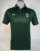 Under Armour Colorado State University Rams Green Short Sleeve Polo Shirt Men's - $56.24