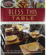 Bless This Table Hardcover Book Celebrity Family Recipes Alison Krauss, ... - $29.97