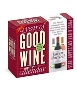 A Year of Good Wine Page-A-Day Calendar 2019 - $11.63