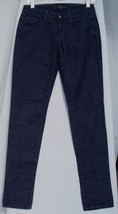 JOE'S JEANS WOMEN'S CHELSEA LOW RISE STRAIGHT LEG MIDNIGHT CHECKED SZ 26... - $23.99