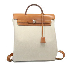 Hermes ale with a backpack canvas backpack bag sorting bags - $679.38