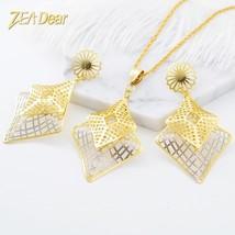 ZEADear Jewelry Fashion Jewelry 2019 Earrings Pendant Jewelry Sets Women... - $20.00
