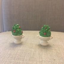 Disney Cinderella Castle monorail Figure flowers plants bushes pot Short - $10.93