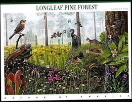 USA 2002 SC#3611, Longleaf Pine Forest, Stamps MNH VF Fast free shipping - $14.36