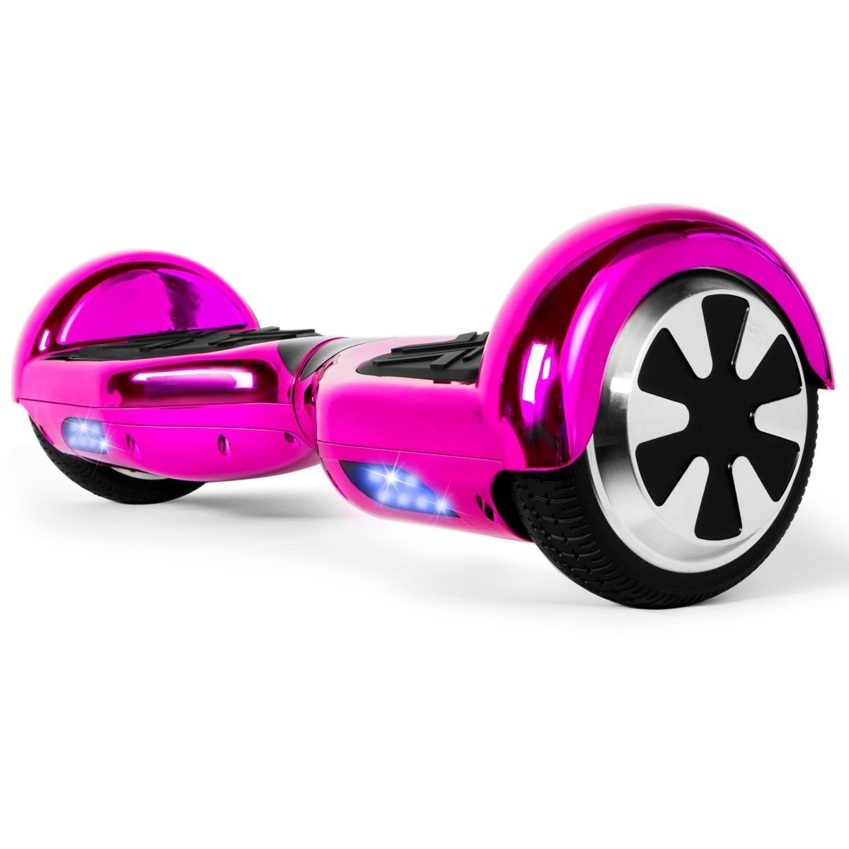 Chrome Hot Pink Extreme Bluetooth 6.5 Hoverboard Two Wheel Balance Scooter UL