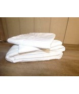 Charter Club Damask Solid Supima Cotton  Flat Sheet and 2 Cases King, White - $32.92