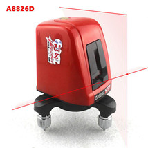 A8826D Laser Level 2 Red Cross Line 1 Point 360 Degree Rotary Self- Nivel - $42.90