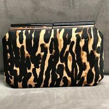 Sondra Roberts Animal Printed Hair Calf Clutch - $108.90
