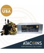 Power Supply 1600w 1800w and 1600w 110v-240v 80plus GOLD Full modular mi... - $336.59+