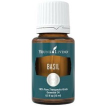 Young Living Basil 15 ml Essential Oil - Unopened - FREE SHIPPING - $24.74