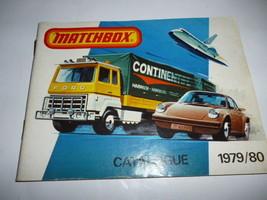 VINTAGE DIECAST MATCHBOX 1979/80 CATALOG- GOOD SHAPE - H34 - $2.52
