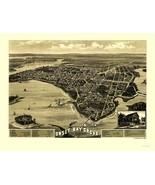 Onset Bay Grove Wareham Massachusetts - Walker 1885 - 23.00 x 30.15 - $36.58+