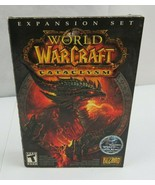 PC DVD Video Game World of Warcraft Cataclysm Windows/Mac 2010 - $15.00