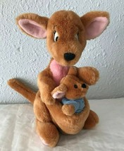 "Disney Kanga Roo Winnie the Pooh Plush Set stuffed animals 10"" - $28.97"