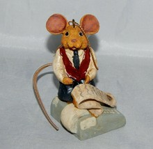 Kurt Adler Accountant Mouse Ornament - $7.92