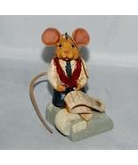 Kurt Adler Accountant Mouse Ornament - $7.92