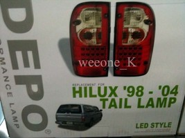 DEPO TAIL REAR LED LIGHT LAMP FOR TOYOTA HILUX MK4 PICKUP 1998 - 2004 - $150.79