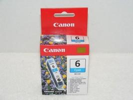 NIP CANON 6 CYAN BCI-6C INK CARTRIDGE - $10.99