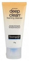 NEUTROGENA Deep Clean Foaming Cleanser 50g-skin smooth and soft to the t... - $15.83