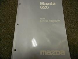1998 Mazda 626 Service Highlights Reparatur Shop Manuell Fabrik OEM Buch 98 - $6.65