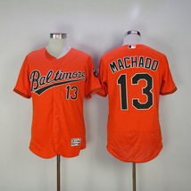 Men's Baltimore Orioles #13 MACHADO Jersey Orange - $39.90