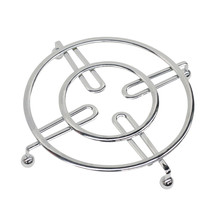 "Home Basics Chrome Flat Wire Trivet 8.25"" x 8.25"" x 1"" - $9.85"