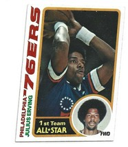 Julius Irving 1978 Topps  1ST Team All Star # 130 - $5.50