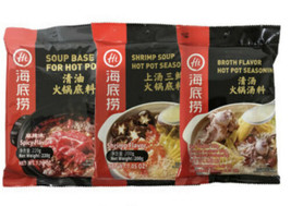 Haidilao Hot pot soup bases - various flavors - $8.99