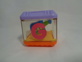 Fisher Price Touch & Feel Cube Letter G - Guitar Inside - $1.49
